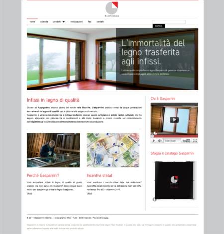 sito web gasparrini
